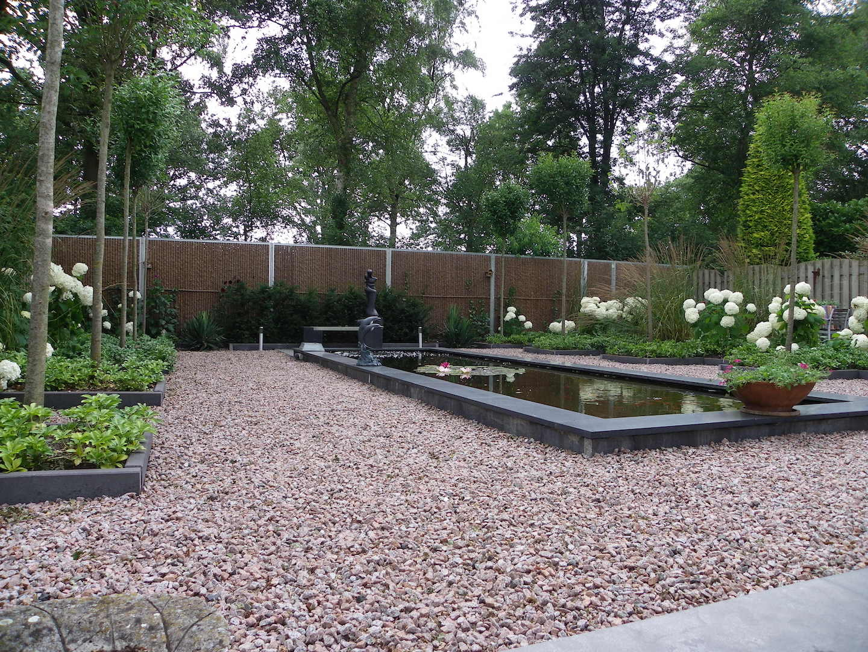Moderne gebruiksvriendelijke tuin te Zeeland